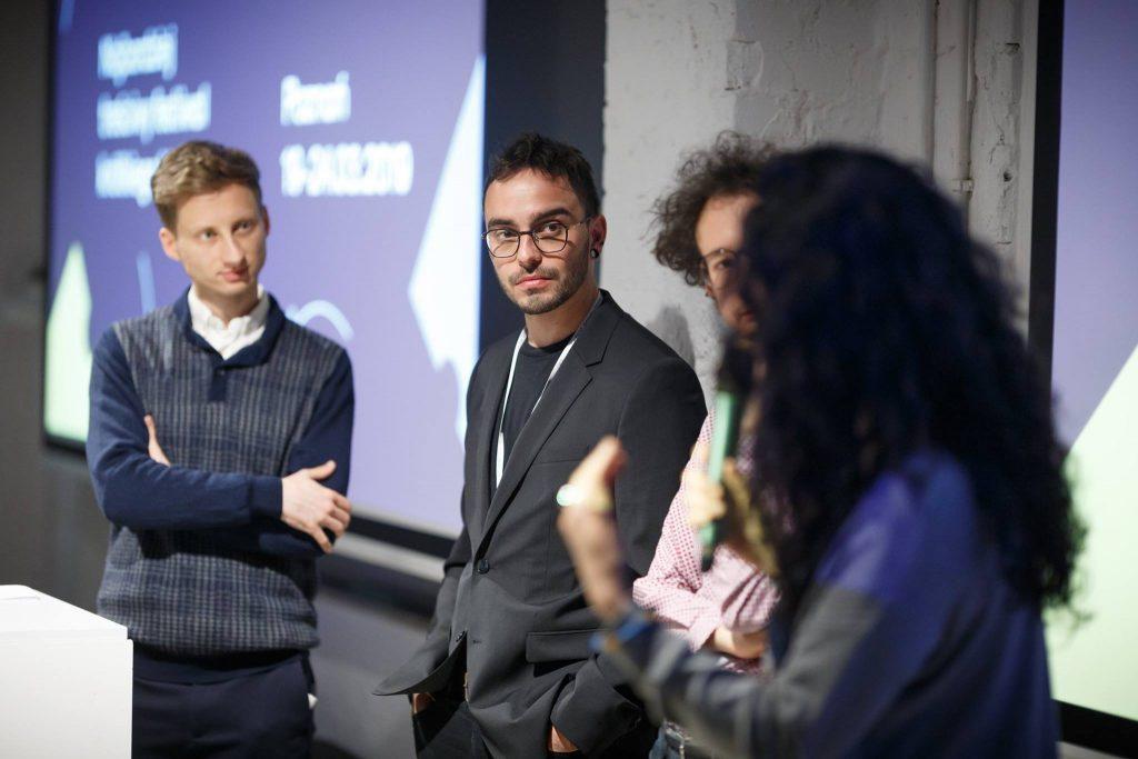 Q&A z twórcami po pokazie Urban View - fot. Piotr Bedliński
